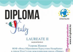 V International competition-festival of arts « Open Italy»